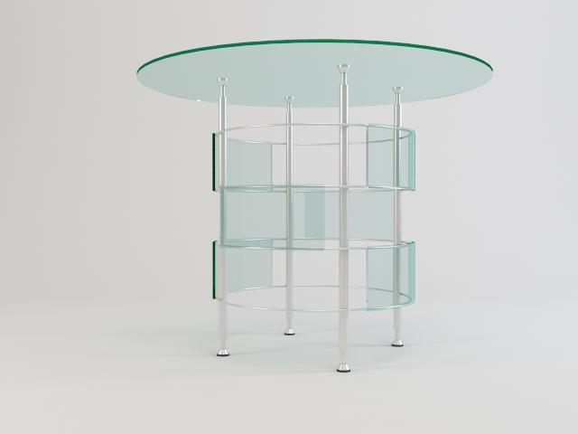 collection of glass tables 3d model 3ds max fbx obj 118455