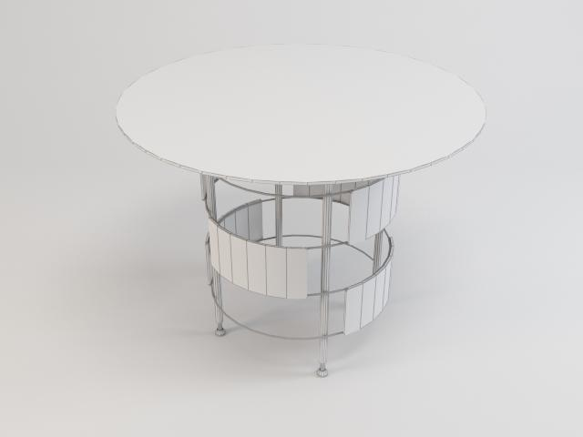 collection of glass tables 3d model 3ds max fbx obj 118456