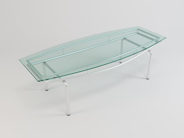 collection of glass tables 3d model 3ds max fbx obj 118457