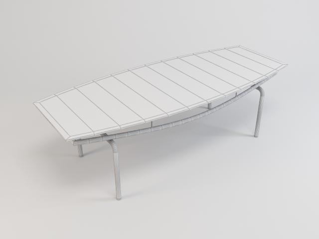 kolekcija staklenih stolova 3d model 3ds max fbx obj 118459