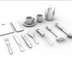 cookware and tableware ( 25.03KB jpg by cookies )