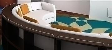 divan (sofa) – #2 3d model lwo 79394