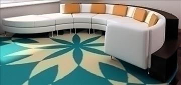 divan (sofa) – #2 3d model lwo 79395