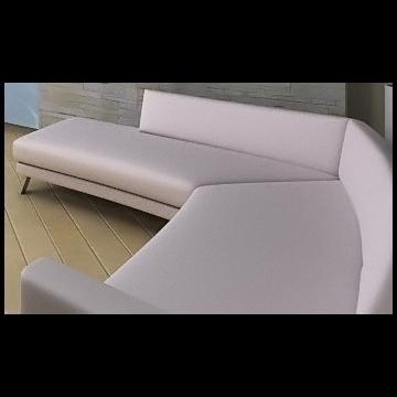 divan (sofa) 3d model lwo 79306