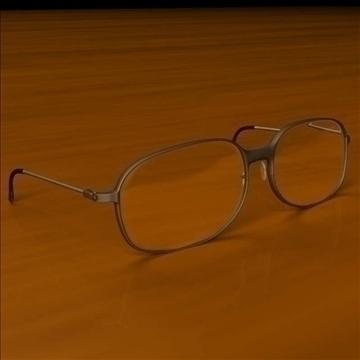 gözlük 3d model max lwo obj 100082
