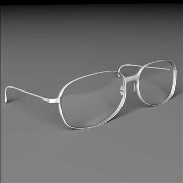 eyeglasses 3d model max lwo obj 100084
