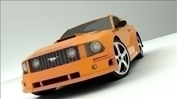 ford mustang 3d model max 110299