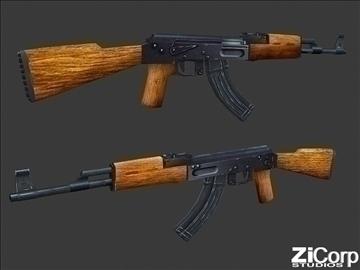 besplatno moderno oružje pk1 3d model 3ds 104577