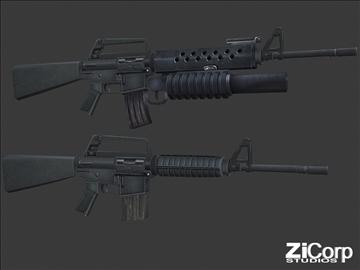 besplatno moderno oružje pk1 3d model 3ds 104578