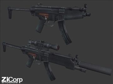 besplatno moderno oružje pk1 3d model 3ds 104580