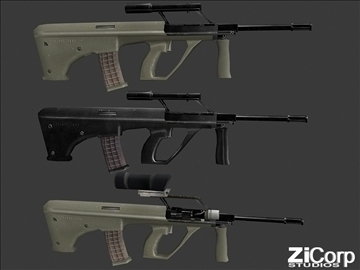 besplatno moderno oružje pk1 3d model 3ds 104581