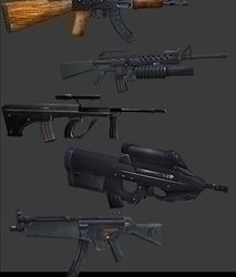 Free Modern Weapons PK1 ( 38.37KB jpg by Bronco78th )