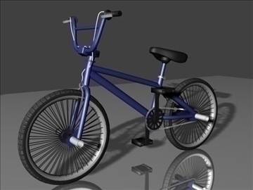 freestyle bmx bike 3d model 3ds maks 84047 obj lainnya