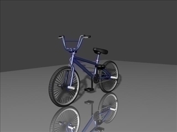 freestyle bmx bike 3d model 3ds max other obj 84048