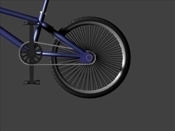 freestyle bmx bike 3d model 3ds max other obj 84050