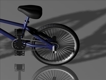 freestyle bmx bike 3d model 3ds max other obj 84051