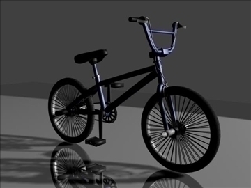 freestyle bmx bike 3d model 3ds max other obj 84052