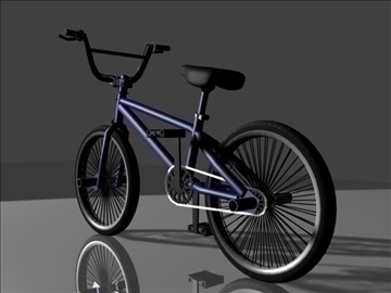 freestyle bmx bike 3d model 3ds max other obj 84053