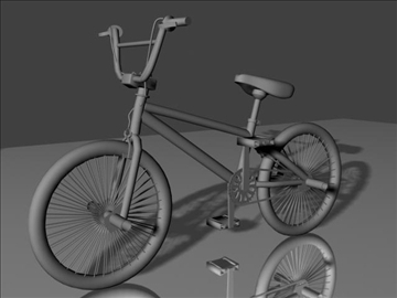 freestyle bmx bike 3d model 3ds max other obj 84054