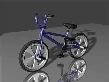 freestyle bmx bike 3d model 3ds max other obj 84055