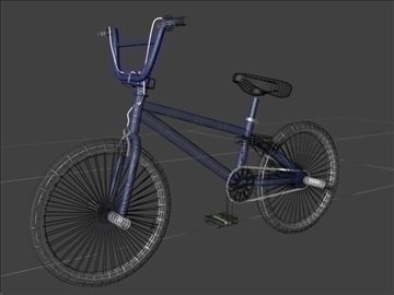 freestyle bmx bike 3d model 3ds max other obj 84056