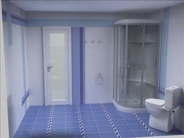 бүрэн угаалгын төсөл 3 хувилбар 3d бусад 112282 загвар