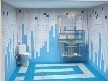 бүрэн угаалгын төсөл 3 хувилбар 3d бусад 112284 загвар