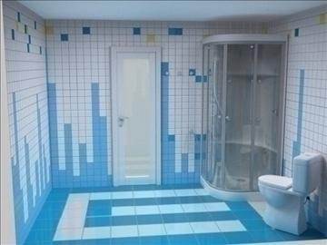 бүрэн угаалгын төсөл 3 хувилбар 3d бусад 112285 загвар