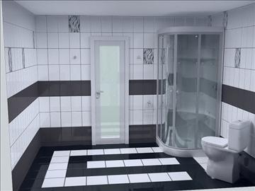 бүрэн угаалгын төсөл 3 хувилбар 3d бусад 112287 загвар