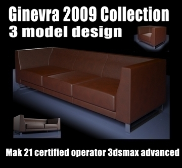 ginevra 2009 collection 3d model max 92257