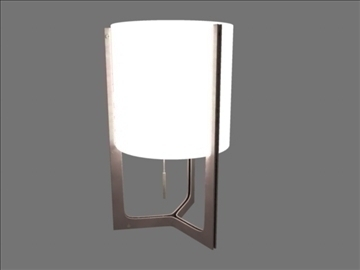 lamp nirvana 3d model ma mb obj 82783