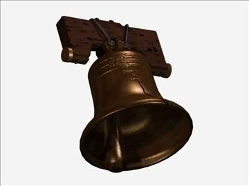 liberty bell 2 3d model max 107745