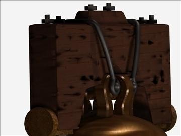 liberty bell 2 3d model max 107747