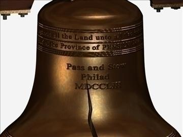 liberty bell 2 3d model max 107748