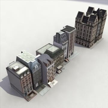 lowbuildings_set 01_3dgamemodels 3d model 3ds max fbx lwo ma mb hrc xsi texture obj 100544