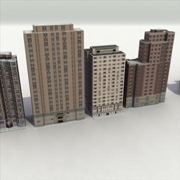 lowbuildings_set 01_3dgamemodels 3d model 3ds max fbx lwo ma mb hrc xsi texture obj 100548