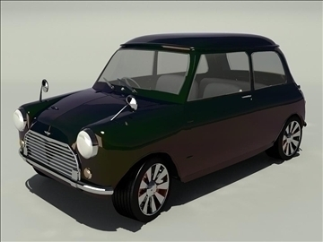 Mini Cooper 1963 3d líkan 3ds 105741