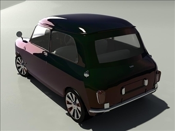 mini cooper 1963 3d model 3ds 105742