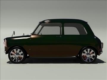 mini cooper 1963 3d model 3ds 105743