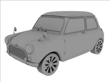 mini cooper 1963 3d model 3ds 105744