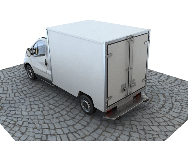 opel vivaro truck collection 3d model max 117857