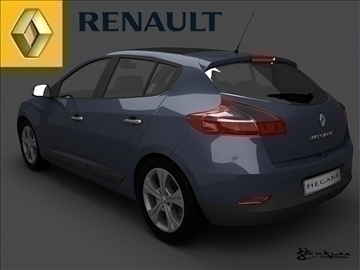 renault megane iii 2009 pack1 3d model max 101506