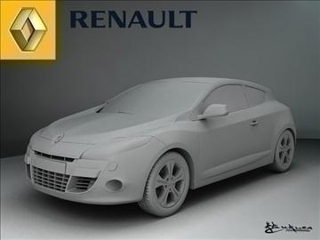 renault megane iii 2009 pack1 3d model max 101507