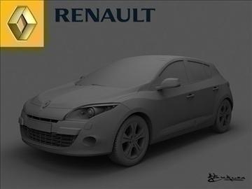 renault megane iii 2009 pack1 3d model max 101509
