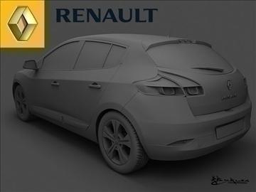 renault megane iii 2009 pack1 3d model max 101510