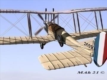 royal aircraft factory be2c high definition 3d model max fbx jpeg jpg obj 86904