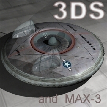 set of unusual aircraft 3d model 3ds 96071