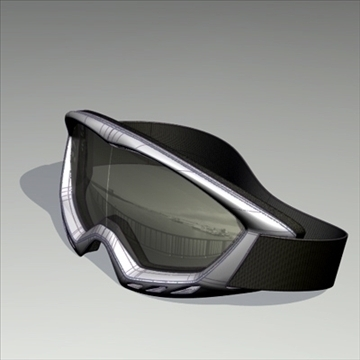 ski goggle 3d model alias studio 89419