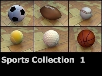 sportscollection 3dmodels 3d model 3ds max obj 99375