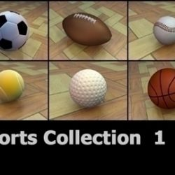 SportsCollection 3DModels ( 65.37KB jpg by 3DArtisan )